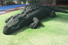 Rubber crocodile play animal, central coast